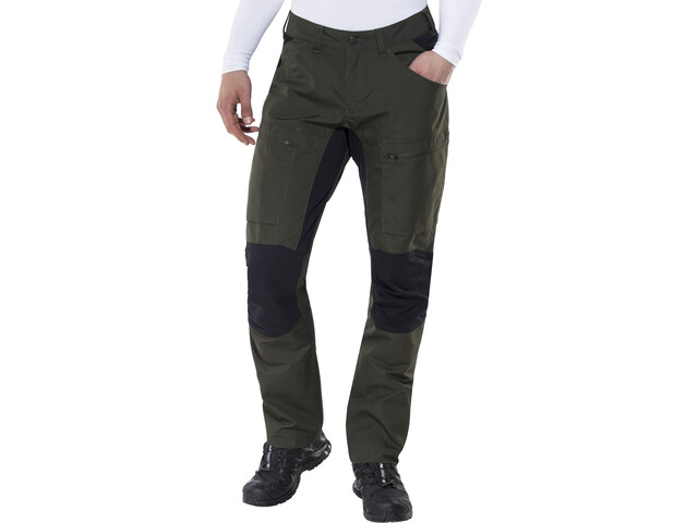 Lundhags Lockne Housut Miehet, dark forest green
